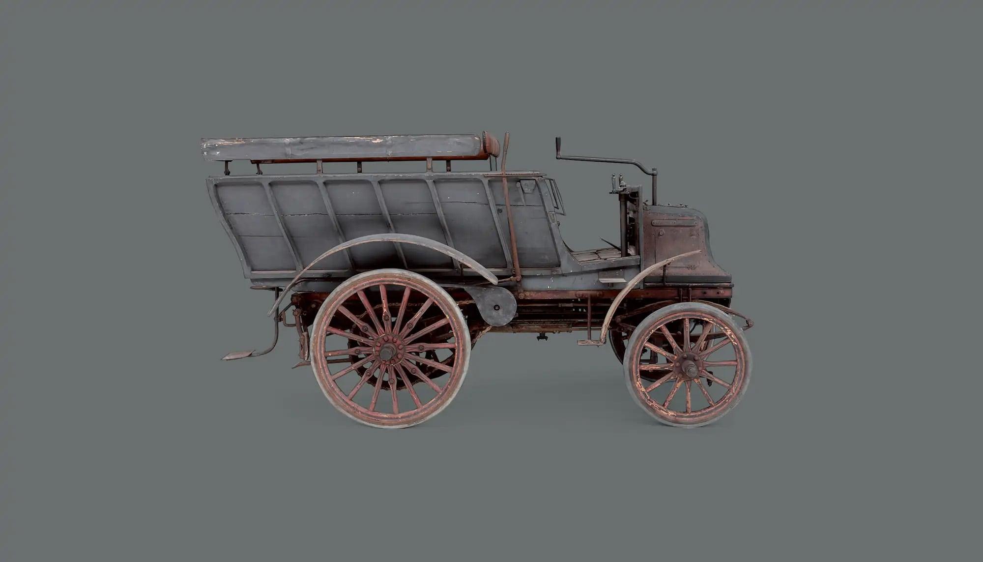 Bekijk Daimler 6-HP Twin Cylinder Six-Seat Brake in het Louwman Museum
