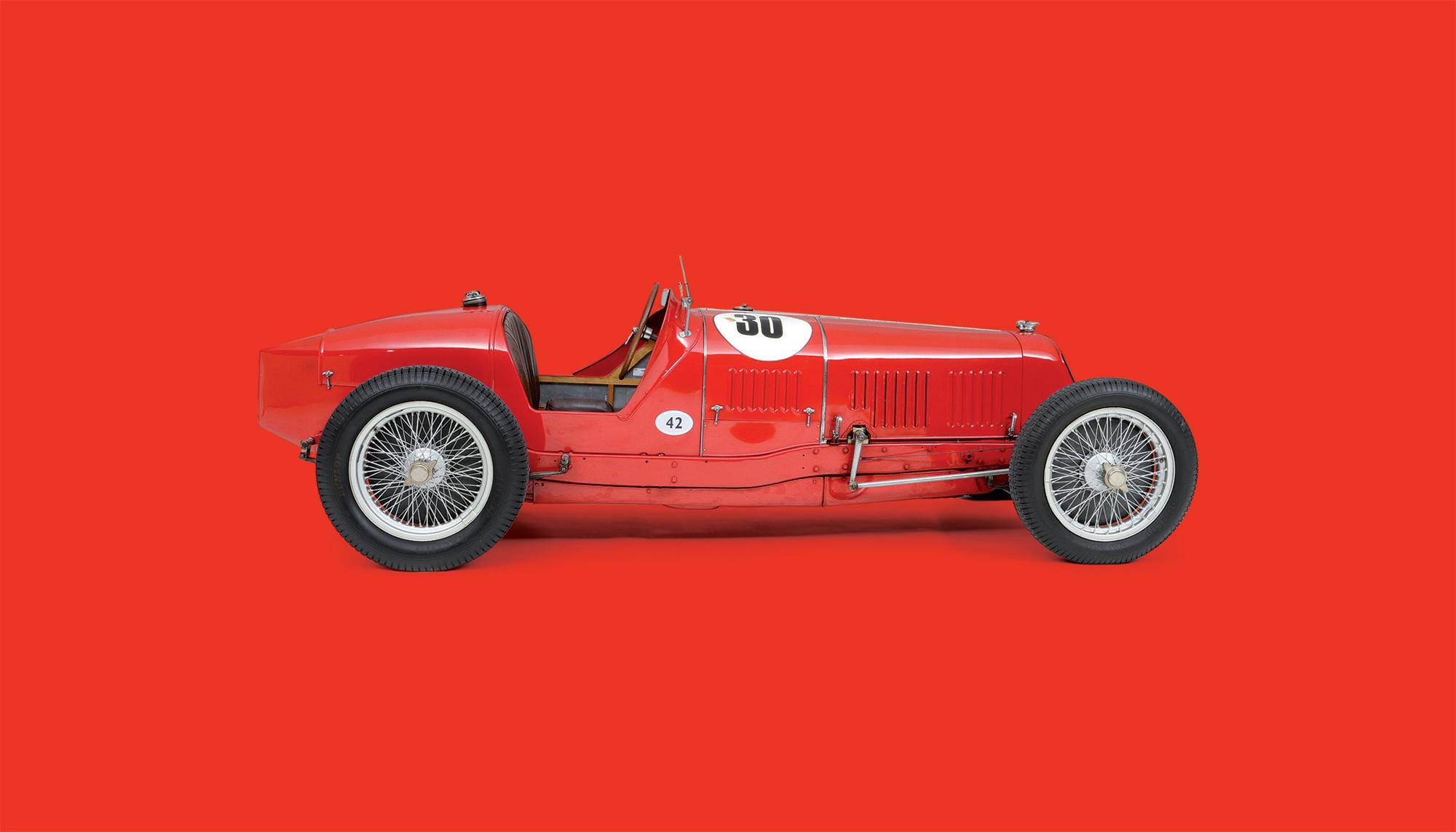 Bekijk Maserati 8C 3000 in het Louwman Museum